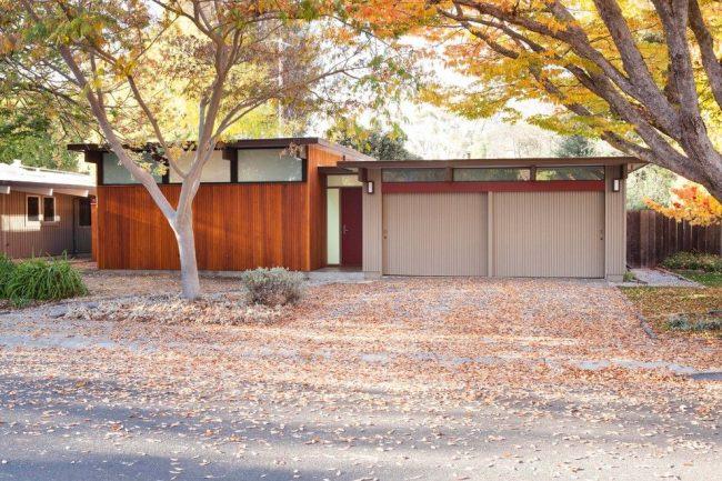 Maison de plain-pied avec garage