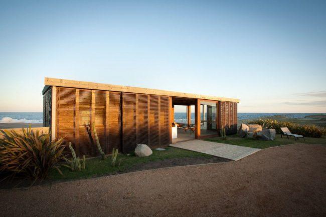 Projet d'une maison de plain-pied jusqu'à 100 m² dans le style Art Nouveau