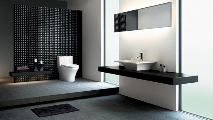 Salle de bain high-tech