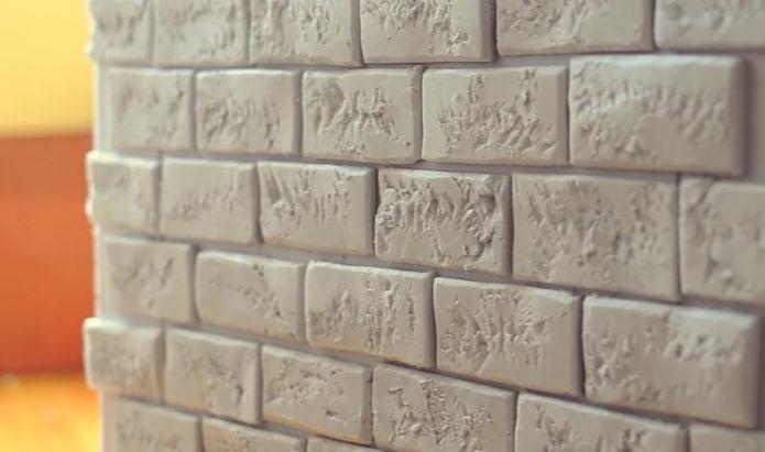Briques à panneaux sandwich