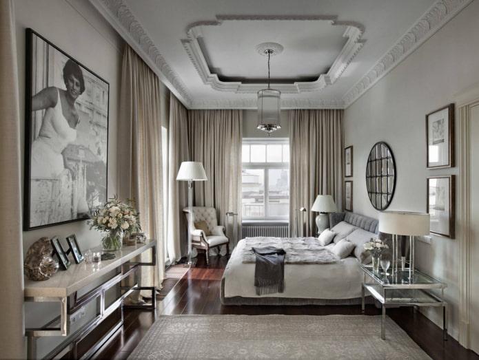 Chambre allongée