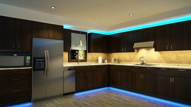 Grâce à la variété des luminaires LED, vous pouvez créer un ensemble lumineux unique