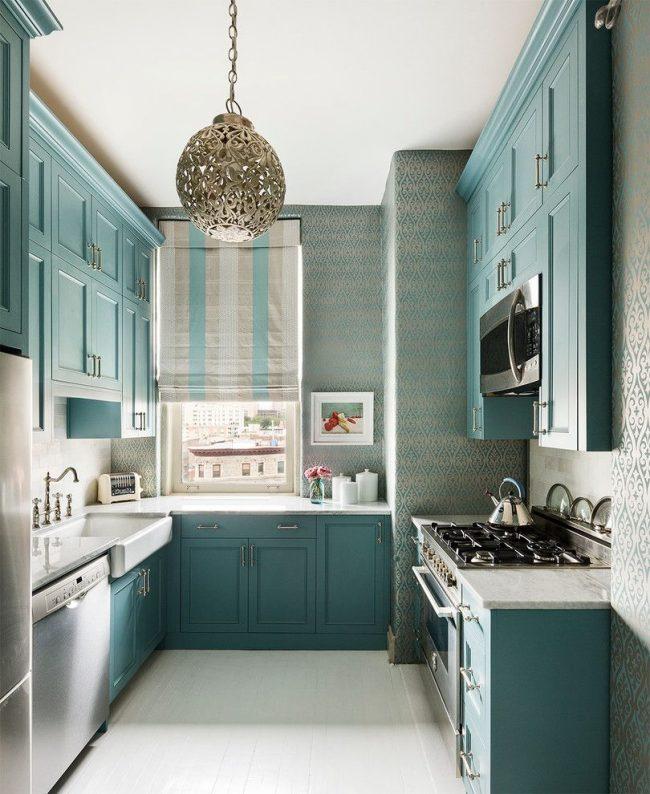 Une petite image pour correspondre à la couleur principale de la cuisine