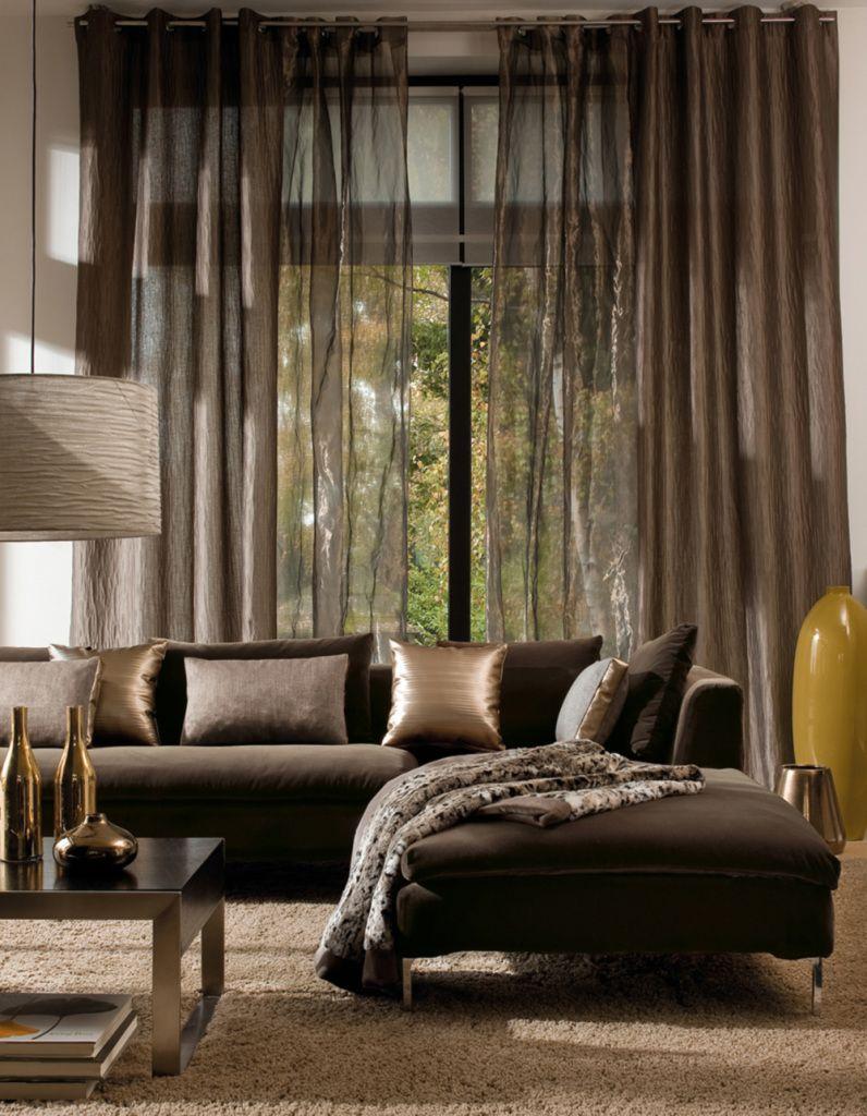 Rideaux en organza - décoration de fenêtre idéale