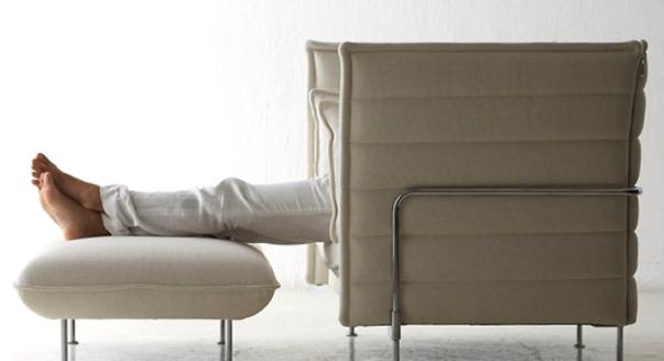Peut également être utilisé en complément d'un canapé ou d'un fauteuil
