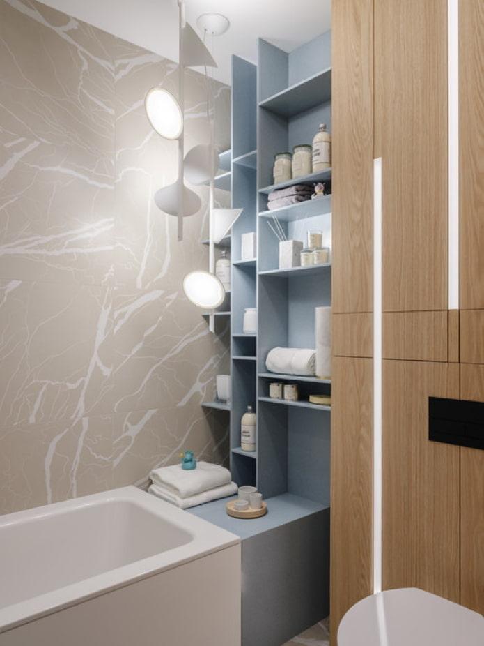 meuble de salle de bain encastrable