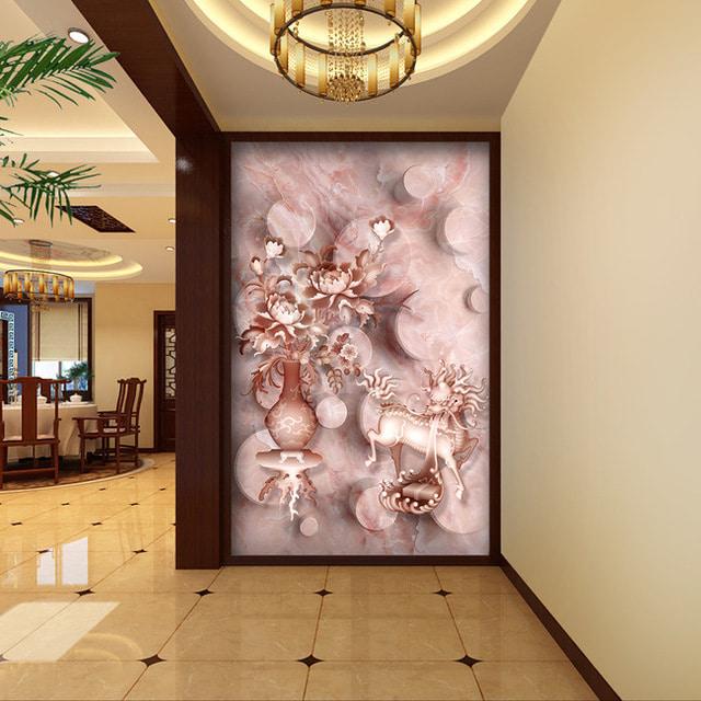 fond d'écran 3D dans le couloir