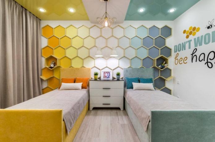 chambre pour enfants de sexes différents