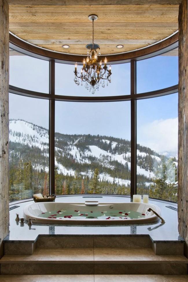 Pour les vitrages panoramiques, seul du verre antichoc est utilisé