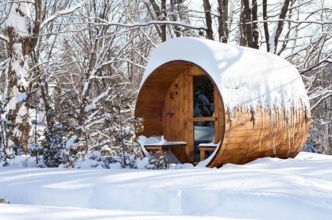 Bain en hiver - bienfaits pour le corps, joie pour l'âme