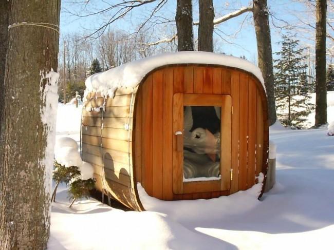Lors de l'utilisation du hammam en hiver, le bain doit être isolé