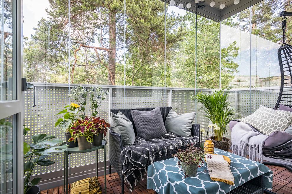 Un balcon vitré peut être un passe-temps agréable pour toute la famille.