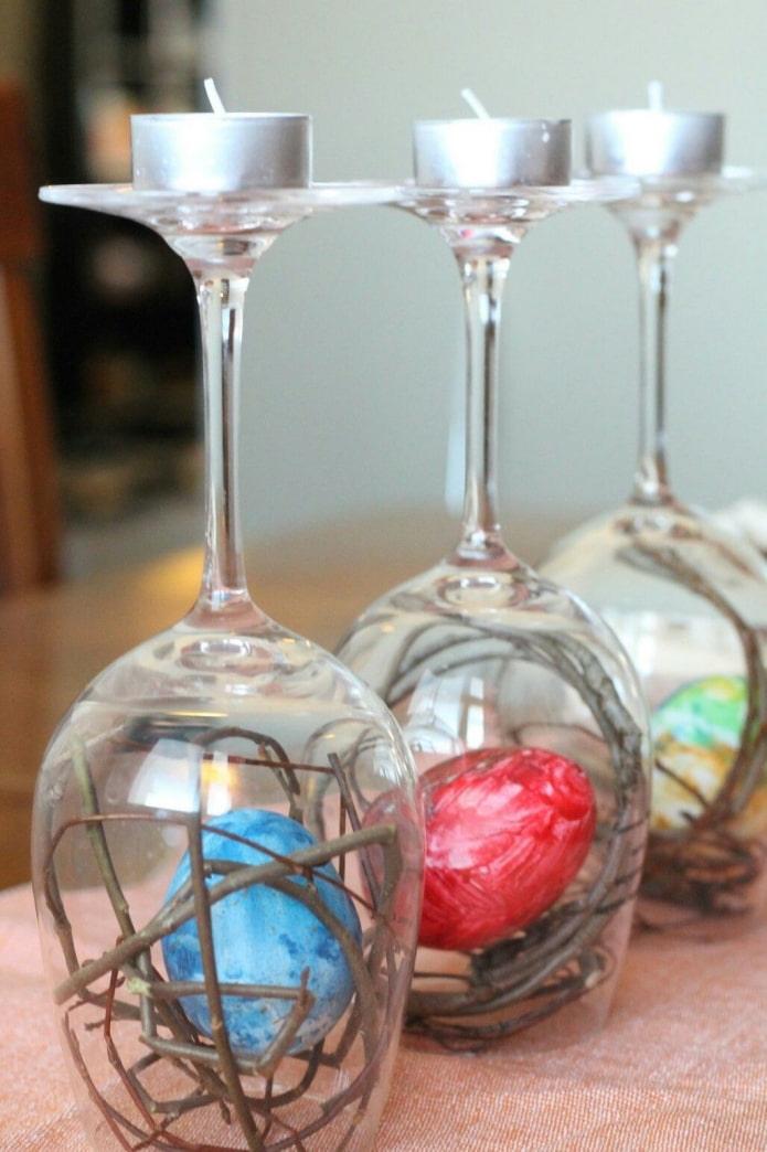 Chandeliers de verres