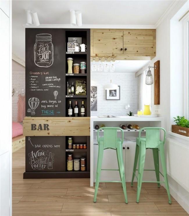 Égayez votre cuisine avec une ardoise ou un mur
