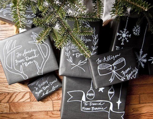 Comment aimez-vous l'idée d'un emballage en ardoise cadeau?