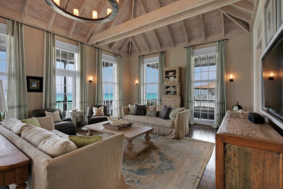 Les housses pour un canapé en toile de jute aideront à mettre en valeur le style campagnard
