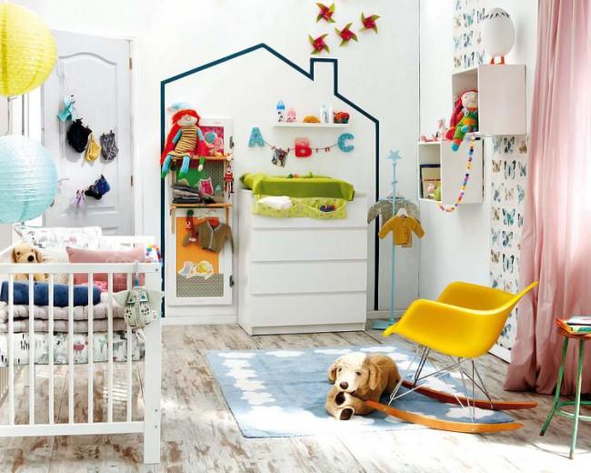 La chambre des enfants est le territoire du plus petit membre de la famille, il est donc nécessaire d'aborder sa conception et son ameublement avec un soin particulier.  Il est important de penser à chaque petite chose.
