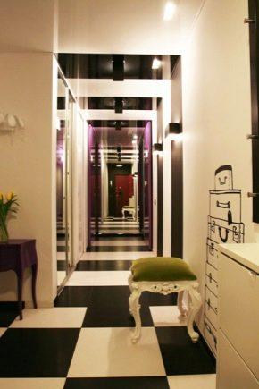 Aménagement et conception d'un long couloir