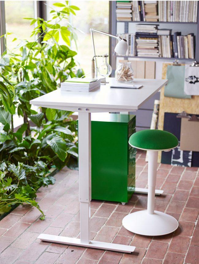 Petit bureau d'IKEA