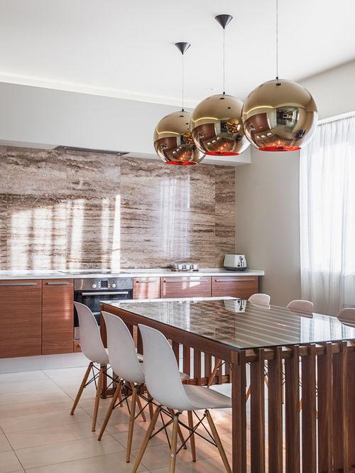 Solution élégante pour un intérieur de cuisine moderne
