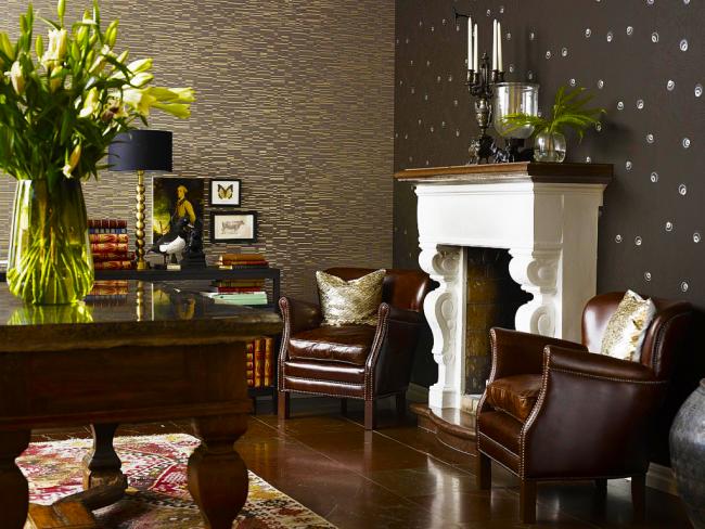 Une solution intéressante pour créer un intérieur de salon classique