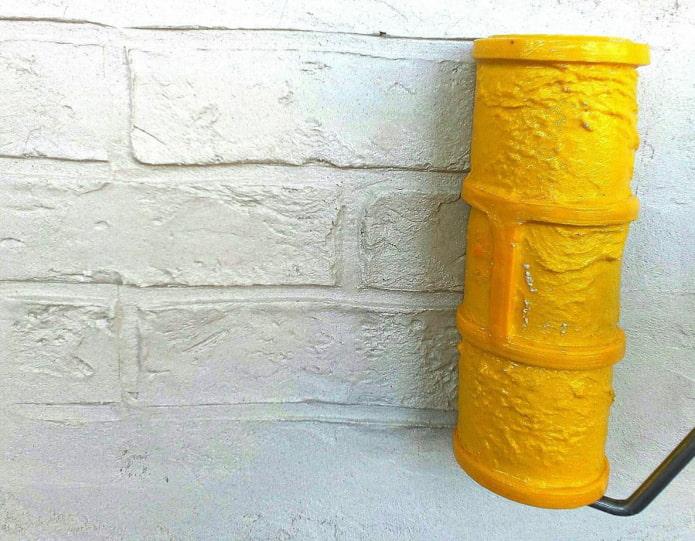 Rouleau imitation brique