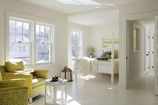 Dans une niche spacieuse, vous pouvez équiper une chambre à part entière