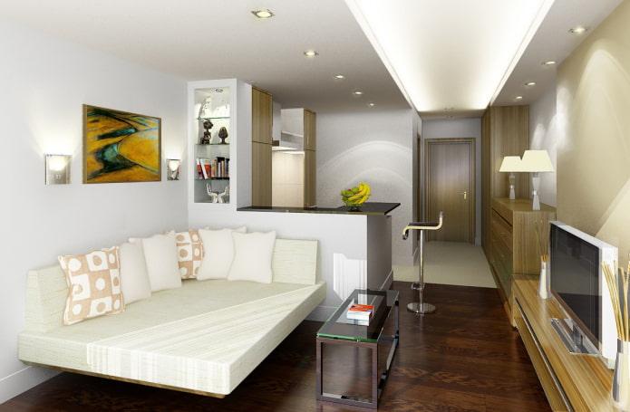 studio 18 m²  m.