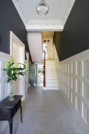 Conception moderne d'un hall d'entrée pour une maison privée