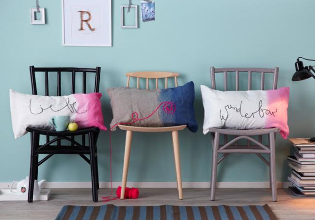 Des coussins décoratifs à faire soi-même apporteront confort et bonne humeur à la maison