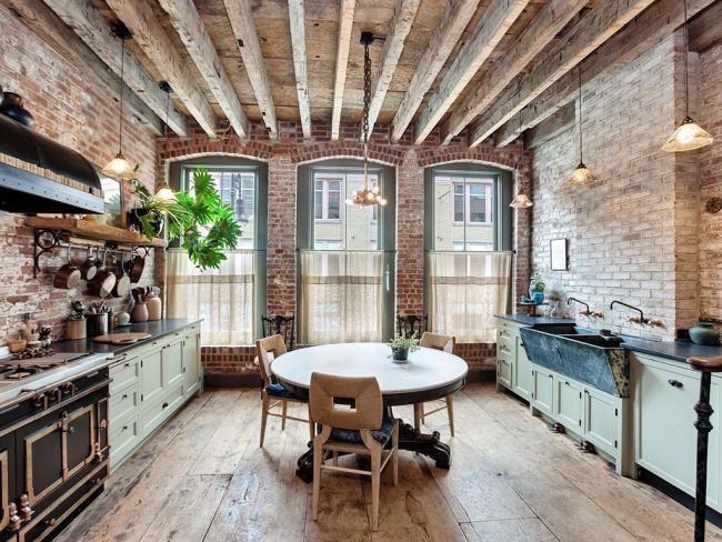 Les cuisines de style loft se distinguent par le charme unique des bâtiments industriels, équipées pour un séjour confortable