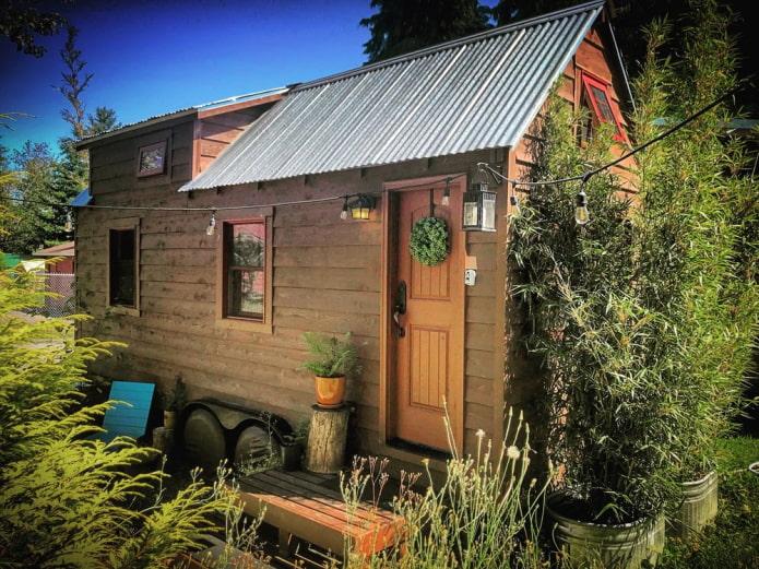 Tiny Tack House en été