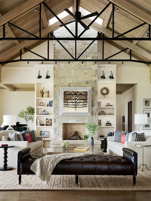 La décoration de plafond joue un rôle énorme dans la décoration intérieure