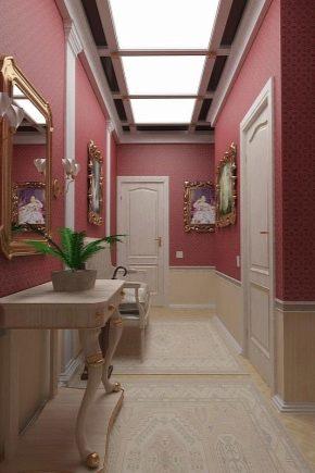 Décorer le couloir avec des panneaux: idées de design intéressantes