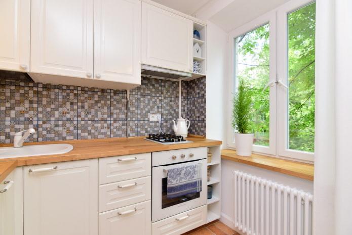 Poignées blanches pour la cuisine Ikea