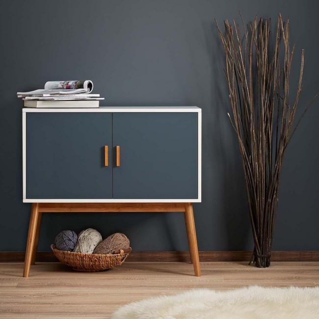 Le film gris mat convient à la décoration de meubles de style loft