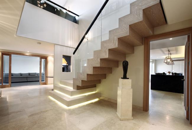 Intérieur luxueux d'une maison privée