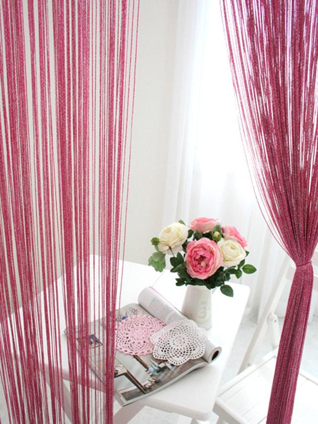 rideaux de filaments
