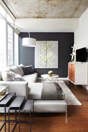 Idées d'intérieur d'appartement moderne