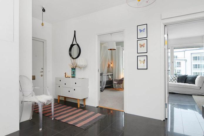 minimalisme dans le couloir