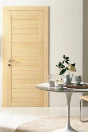 La combinaison d'un sol clair avec des portes claires: de beaux exemples à l'intérieur