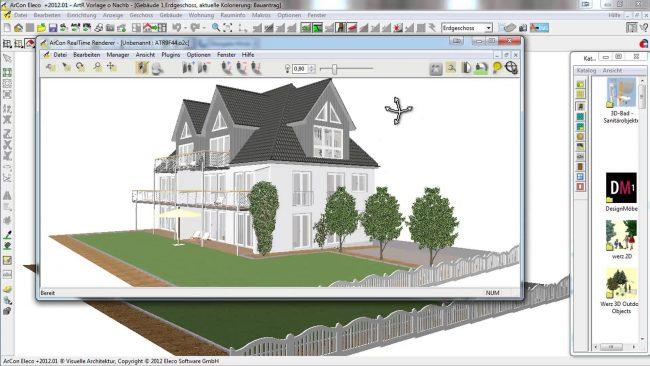 Un logiciel de conception de maison vous aidera à faire face au problème de la visualisation de vos idées pour une explication visuelle aux équipes de construction «comment cela devrait être»