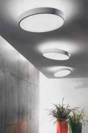 Lustres à plafond plat
