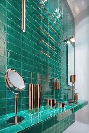 L'utilisation des carreaux de verre dans la décoration intérieure