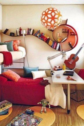Nous décorons magnifiquement les chambres dans un petit appartement