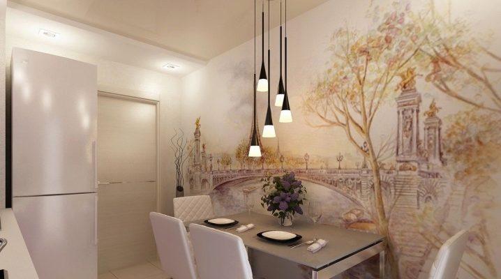 Peindre les murs de la cuisine