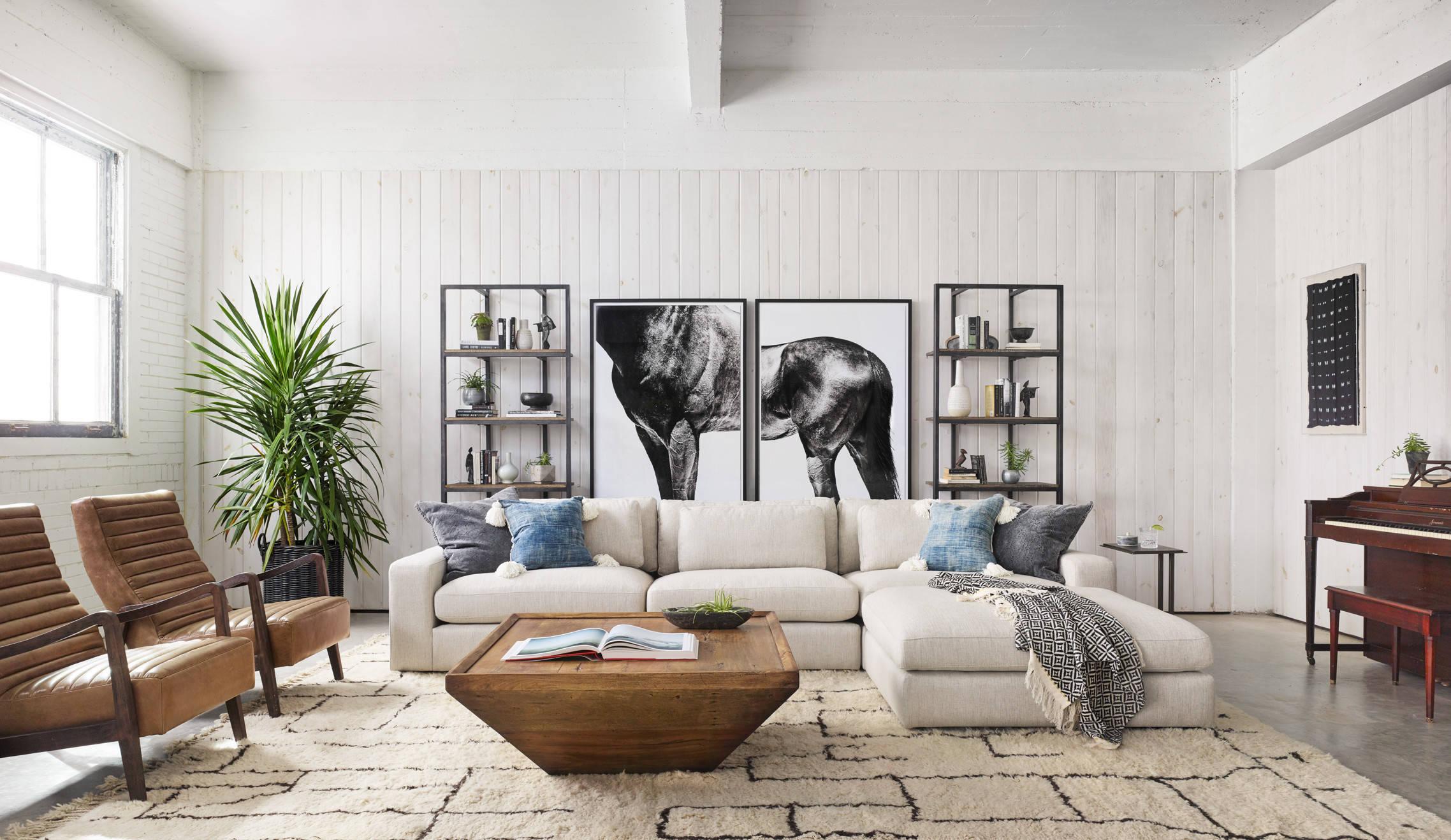 Les peintures modulaires sont un excellent moyen de décorer les intérieurs modernes