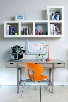 Petit bureau à l'intérieur