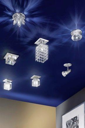 Plafonniers à LED en saillie