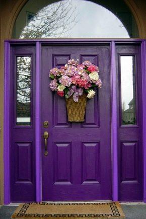 Portes d'entrée en bois pour maisons privées